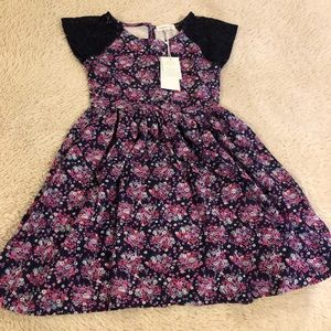 Pumpkin Patch Girl's Casual Dress Size 7 NWT